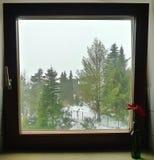 biały okno Zdjęcia Royalty Free