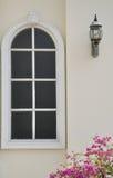 biały okno Obrazy Royalty Free