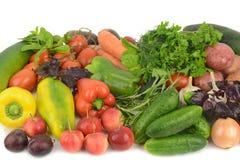 biały owoc warzywa Obraz Royalty Free