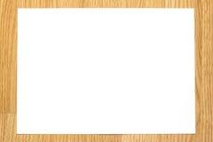 Biały papier Zdjęcie Stock