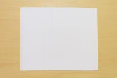 Biały papier Zdjęcie Royalty Free