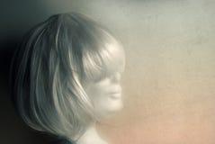 biały peruka Zdjęcie Royalty Free