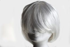 biały peruka Obraz Royalty Free