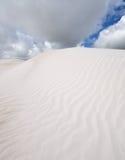 Biały piasek w klin wyspie Australia Obraz Royalty Free
