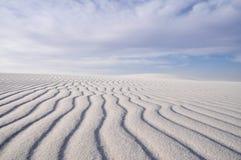 biały pomnikowi krajowi piaski Obrazy Stock