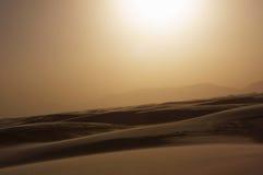 biały pomnikowi krajowi piaski Zdjęcia Stock