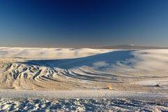 biały pomnikowi krajowi piaski Obraz Stock