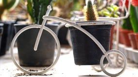 Biały roweru model Fotografia Stock