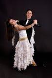 biały sala balowa 02 tancerza Obrazy Stock