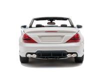 Biały samochodowy kabriolet Fotografia Stock