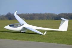biały samolot Zdjęcia Stock