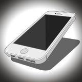 Biały Smartphone Zdjęcie Stock
