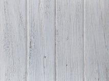Biały stary drewniany Obraz Royalty Free