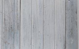 Biały stary drewniany Fotografia Stock