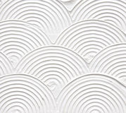 Biały textured akrylowy obraz Obraz Stock