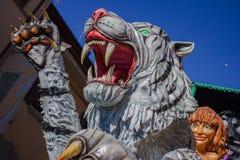 Biały tygrys Fotografia Stock