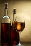 biały wino Zdjęcia Stock