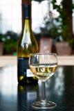 Biały wino Fotografia Royalty Free