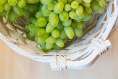 Biały winogrono - Pizzutello fotografia royalty free