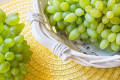 Biały winogrono - Pizzutello obraz stock