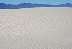 Białych piasków Krajowy zabytek Fotografia Royalty Free