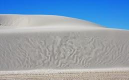 Białych piasków Krajowy zabytek Fotografia Stock