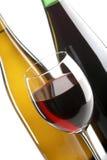 białych win czerwonych Obrazy Royalty Free
