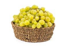 białych winogron Zdjęcia Stock
