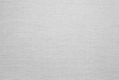 Biała Bieliźniana tekstura Fotografia Royalty Free
