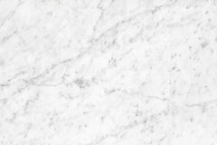 Biała Kararyjska Marmurowa naturalne światło powierzchnia dla łazienki lub kitch Obraz Royalty Free