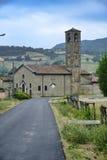 Biagasco或Groppo亚历山德里亚,意大利 库存照片