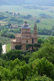 biagio ・ di madonna montepulciano圣 图库摄影