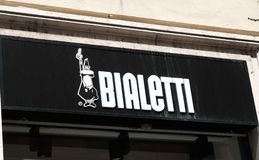 Bialetti lager i Rome Royaltyfria Bilder