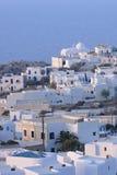 Biali budynki w Grecja Obraz Royalty Free