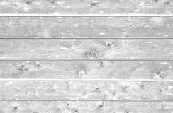 Biali drewniani tła Fotografia Stock