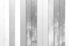 Biali drewniani tła Obrazy Stock