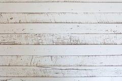 Biali drewniani tekstur tła Obrazy Stock