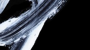 Biali ekspresyjni muśnięć uderzenia dla kreatywnie, nowatorskich, ciekawych tło w zen, projektują Obraz Stock