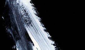 Biali ekspresyjni muśnięć uderzenia dla kreatywnie, nowatorskich, ciekawych tło w zen, projektują Obrazy Stock