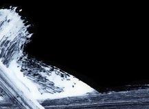 Biali ekspresyjni muśnięć uderzenia dla kreatywnie, nowatorskich, ciekawych tło w zen, projektują Zdjęcie Royalty Free