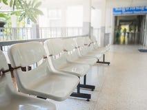 Biali kolorów krzesła Obraz Stock