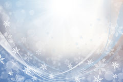 biali płatki śniegu Obraz Stock