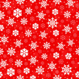 biali płatki śniegu Fotografia Royalty Free