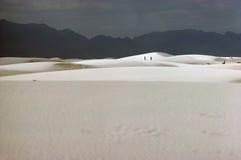 Biali piaski Fotografia Stock