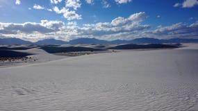 Biali piaski, Nowi - Mexico Zdjęcie Royalty Free