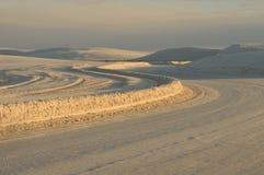 Biali piaski pomnikowi Zdjęcie Royalty Free