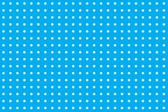 Biali polek kropek okregów obwody na bezszwowym wzorze przeciw pastelowemu dziecka błękita kolorowi z pustym astronautycznym tłem ilustracji