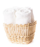 biali ręczniki obrazy royalty free