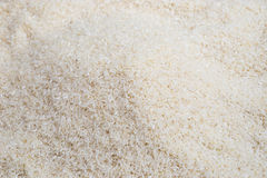 Biali ryż przygotowywają dla gotować Obrazy Royalty Free