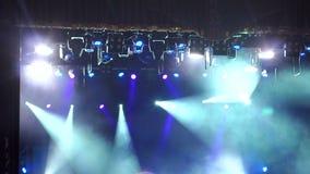 Biali scen światła w bezpłatnej filharmonii zdjęcie wideo